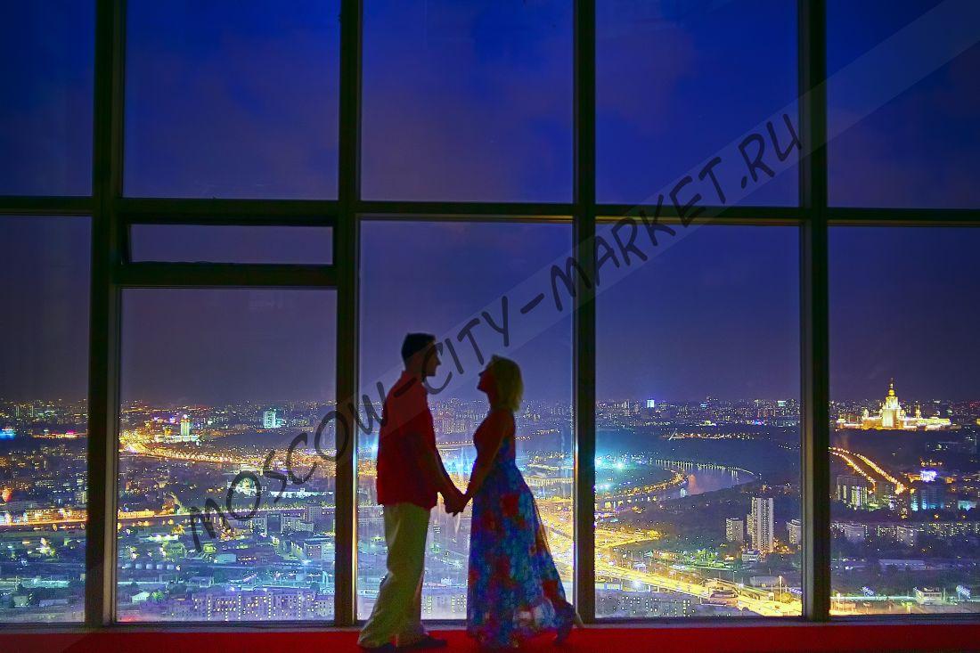 Романтическая ночь в Москва-Сити (Делюкс двухместный)