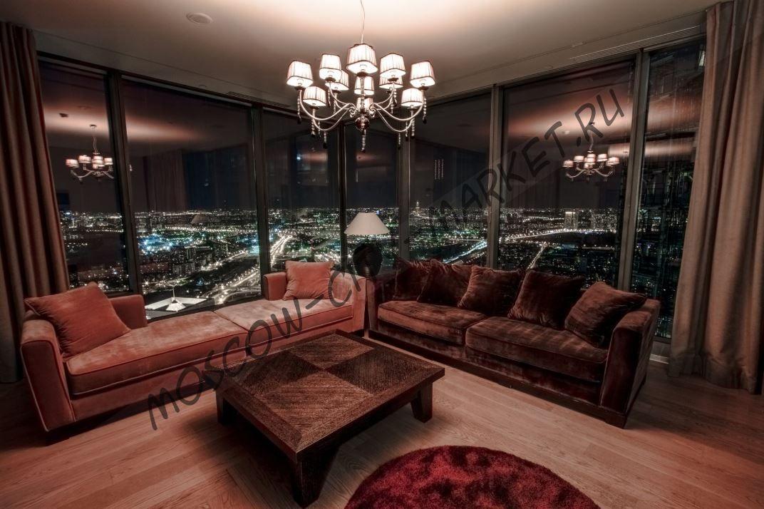 Апратаменты на ночь/сутки в Москва-Сити